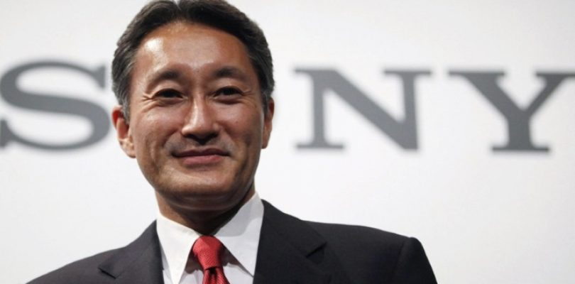 Kaz Hirai is stepping down as Sony CEO in April