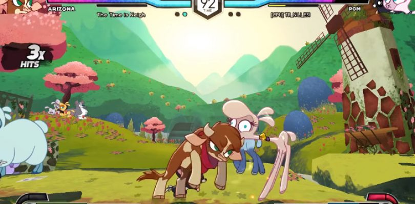 Ponies are getting rowdy in Them's Fightin' Herds