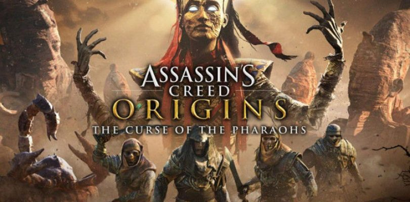 The dead seek justice in the launch trailer for The Curse of the Pharaohs in Assassin's Creed Origins