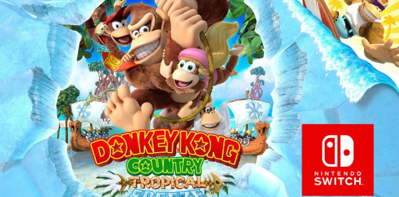 Donkey Kong Country: Tropical Freeze is smaller on the Switch