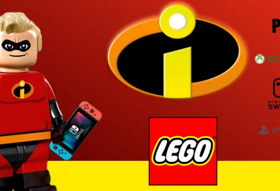 It's invisible, fast, super strong and comes in blocks – it's The Incredibles LEGO video game