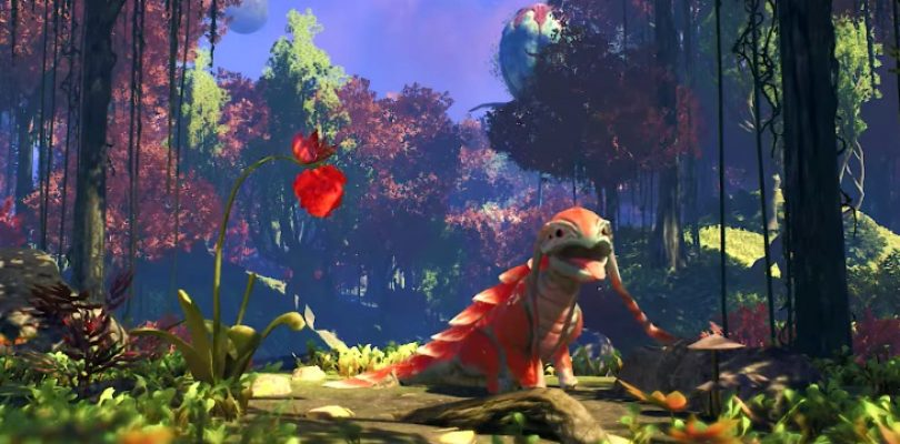 Satisfactory teaser tells us almost nothing, but look at that cute lizard