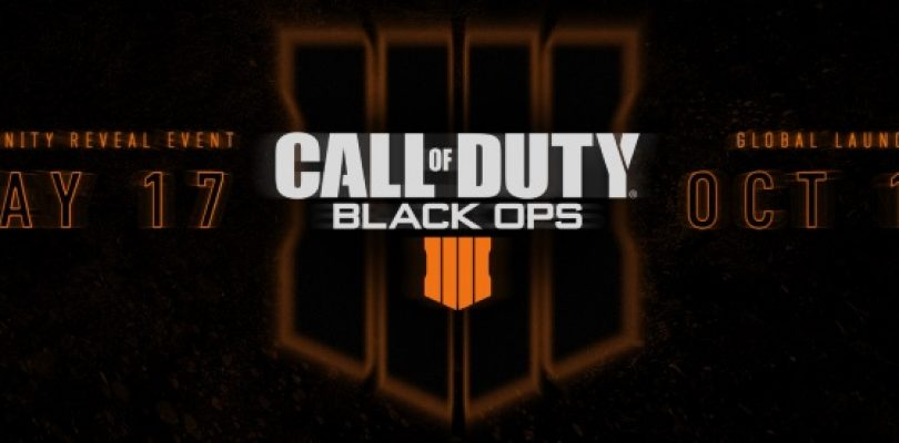 Call of Duty Black Ops 4 releases on October 12, community reveal on May 17