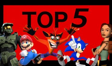 Top five video game mascots
