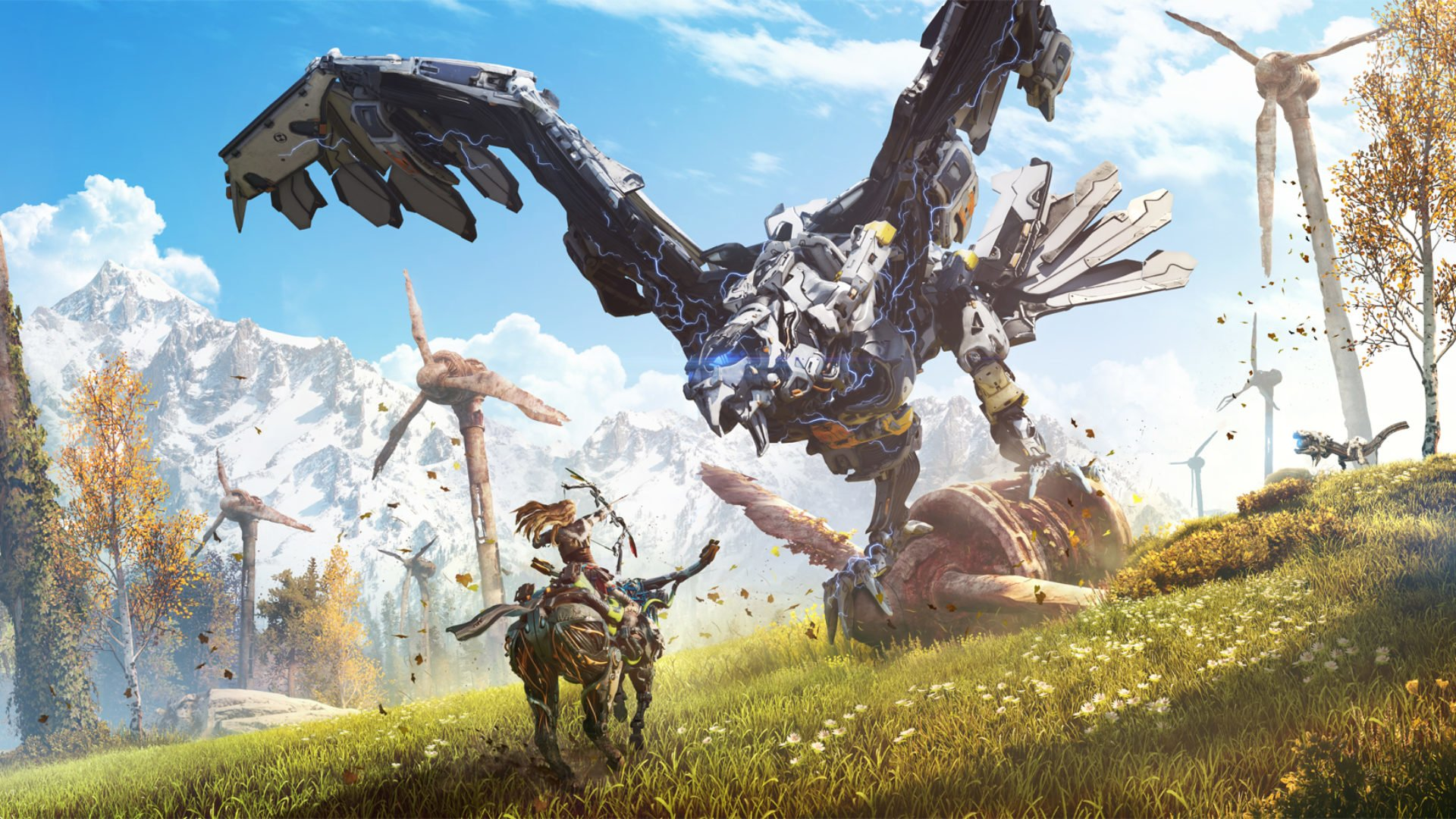 horizon zero dawn is turning one year old and players have killed a