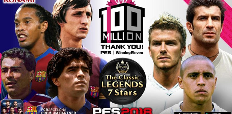 PES celebrates 100 million copy milestone with a community event