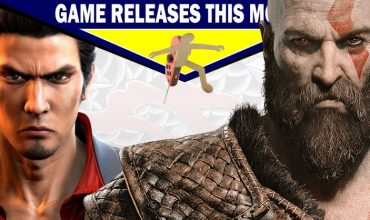 Game releases for April – With some predictions!