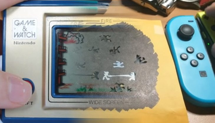 Video: A clever person has already created a Game & Watch classic using Nintendo LABO