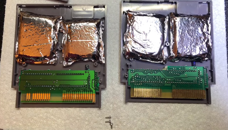 A retro games collector discovers smuggled drugs inside a
