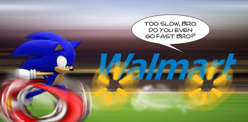 Sonic is fast, but Walmart leaks are FASTER!