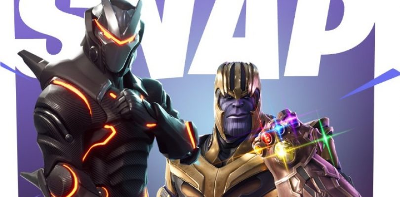 Thanos is heading to Fortnite to bring balance to battle royales
