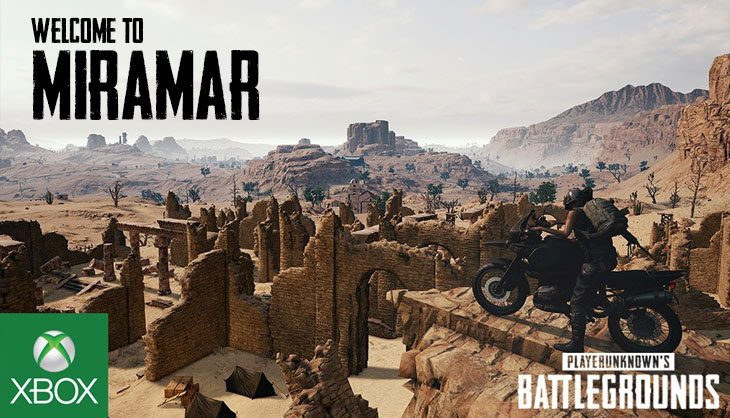 PUBG on Xbox One – New Miramar map and patch breakdown