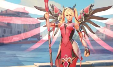 Overwatch is selling a Mercy charity skin to aid breast cancer research