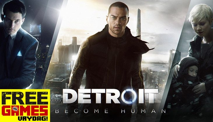 Free Games Vrydag – Detroit: Become Human (PS4)
