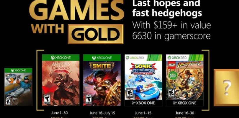 Games with Gold in June transforms into something a little different