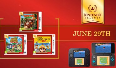 New games added to the Nintendo Selects line-up on the 3DS