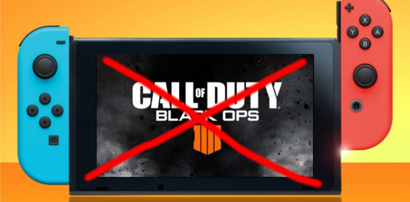 Black Ops 4 will not be heading to the Switch, after all