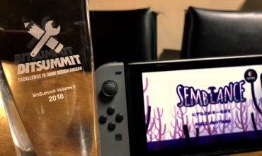 Semblance is big in Japan, wins Excellence in Game Design Award