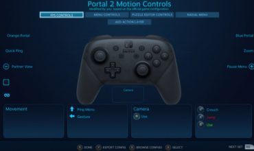 Steam now allows support for the Nintendo Switch Pro Controller