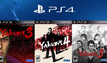 Yakuza 3, 4 and 5 will be remastered for the PS4