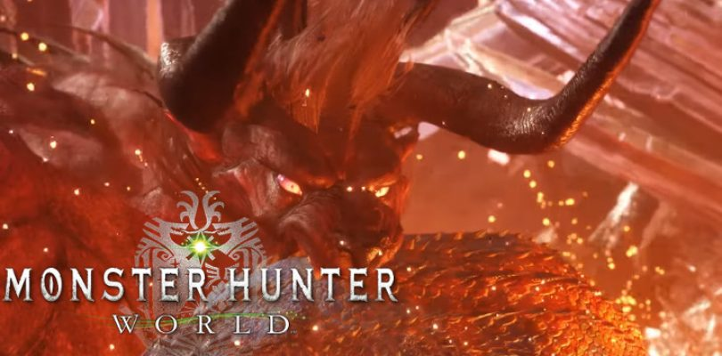 The Behemoth has been summoned in Monster Hunter World