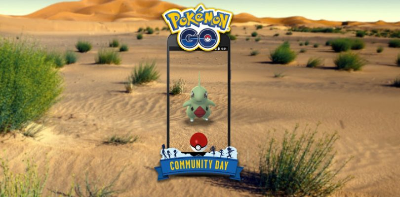 Join the local community once again for Pokémon GO's next Community Day