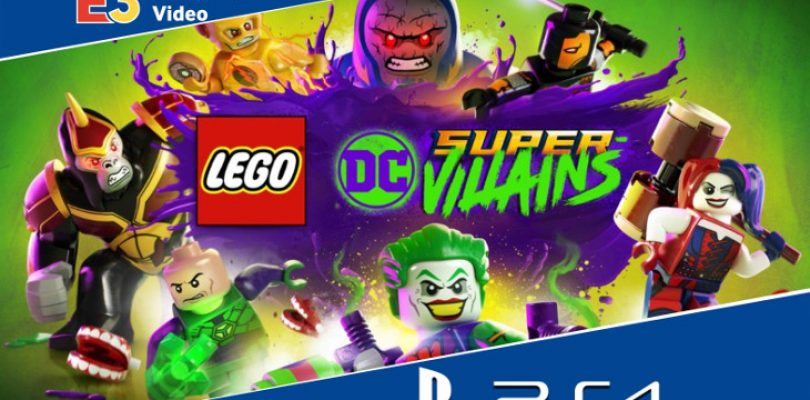 E3 2018: Gameplay capture – Lego DC Villains