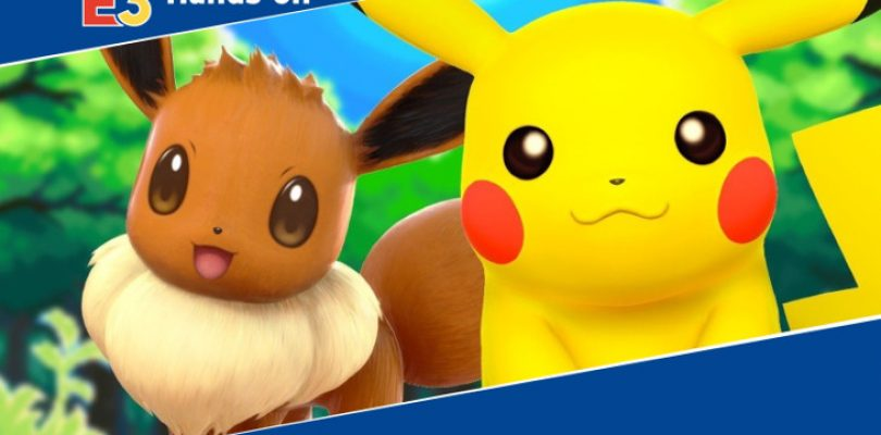 E3 2018: Hands-on – Let's Go Pikachu and the Pokéball Plus
