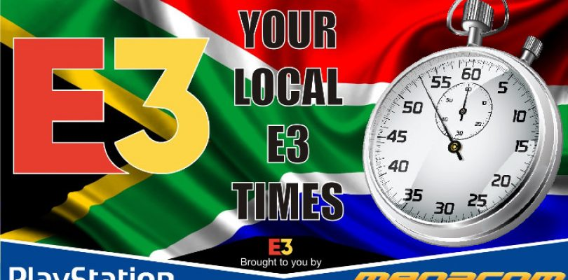 Your local times to catch all the E3 2018 briefings
