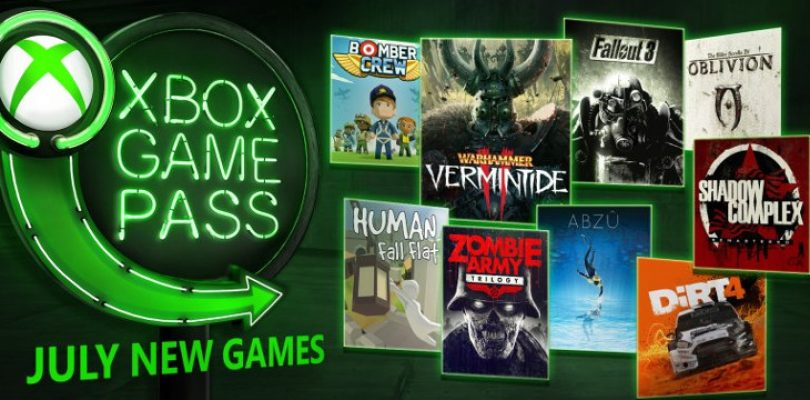 Fallout and get a little dirty with the Xbox Game Pass games in July