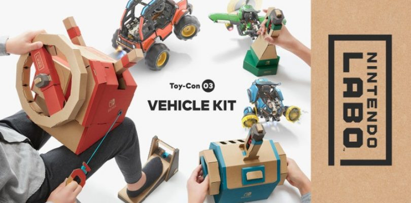 LABO has a new vehicle-themed kit