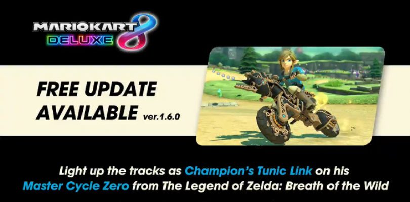Mario Kart Deluxe 8 gets Breath of the Wild Update