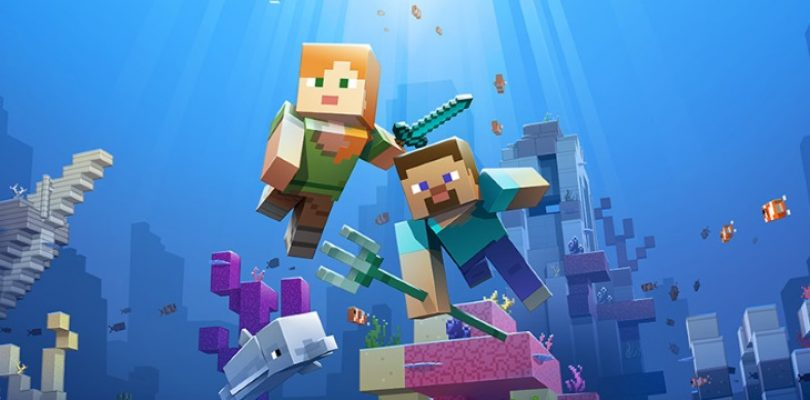 Minecraft's second phase of going aquatic adds underwater critters and enemies