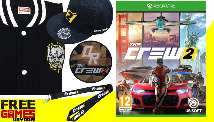 free games vrydag the crew 2 xbox one sa gamer. Black Bedroom Furniture Sets. Home Design Ideas