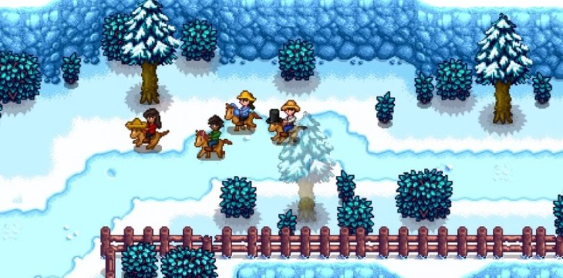 Stardew Valley's multiplayer is coming next month