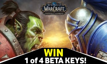 Come WIN yourself 1 of 4 WoW: Battle for Azeroth beta keys