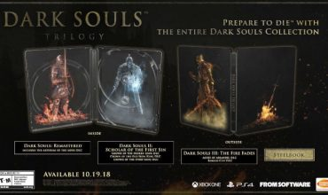 Limited Edition Dark Souls Trilogy announced