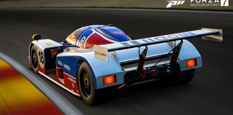Forza 7 update reworks drifting and reintroduces time attack