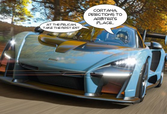 Leaked image shows potential Halo and Forza Horizon 4 crossover
