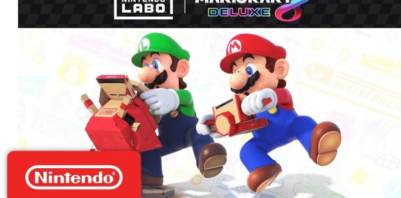 New Vehicle LABO Kit lets you 'drive' your cardboard kart around Rainbow Road