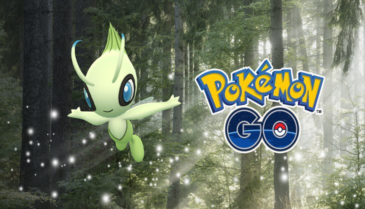 Get ready trainers for the Mythical Pokémon Celebi