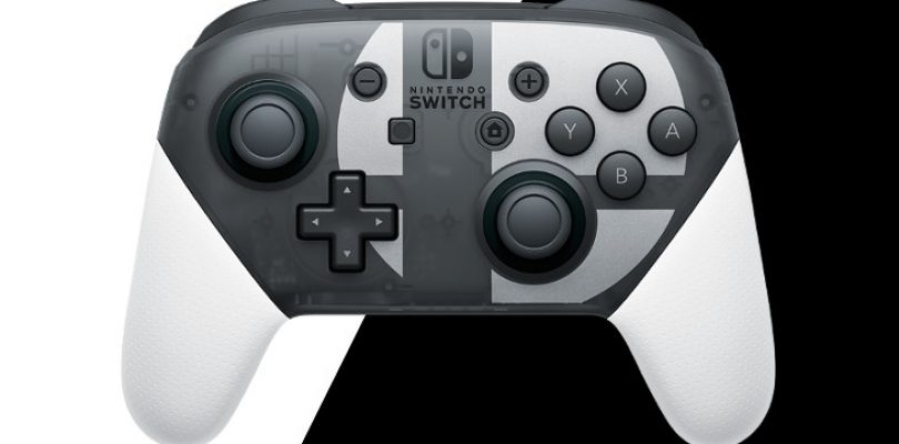 Nintendo reveals Special Edition Super Smash Bros Ultimate Pro Controller