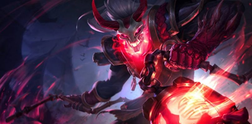 The price of this League of Legends skin is your blood