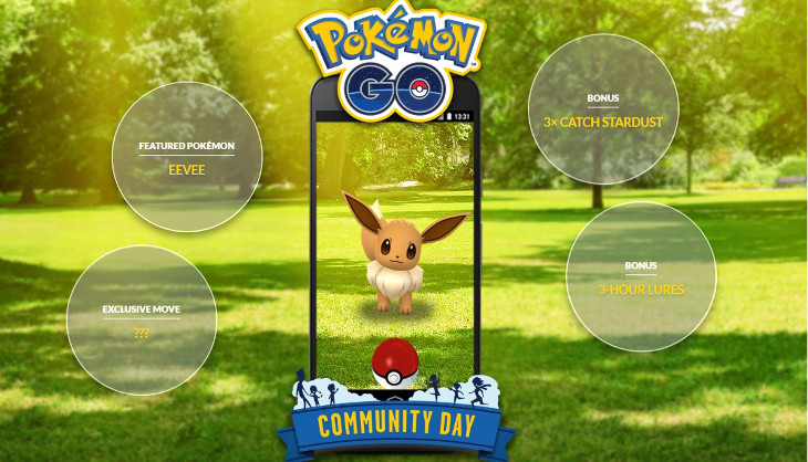 Join the local community for this month's Pokémon GO