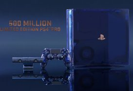 The 500 Million PS4 Pro Limited Edition console is one sexy beast