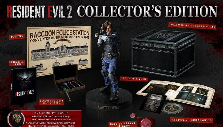 The Resident Evil 2 CE is coming to South Africa and will set you back R3,999