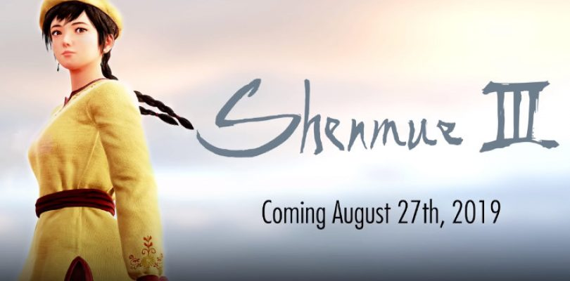 Shenmue III finally has a launch date… a year from now