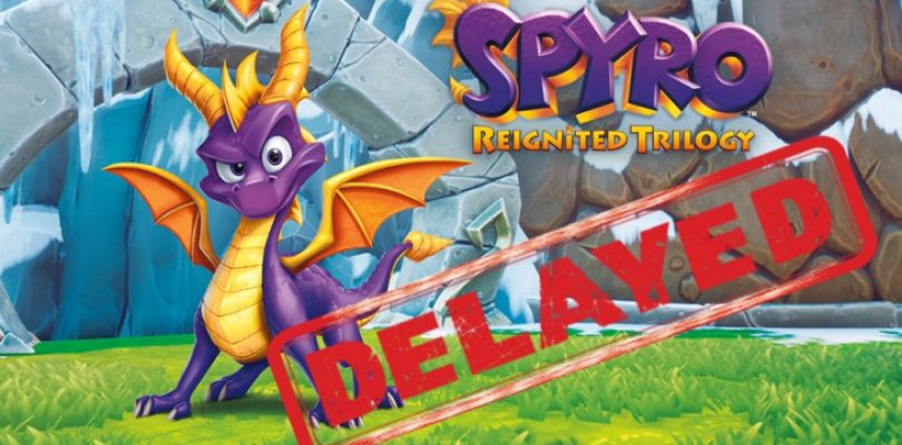 Spyro Reignited Trilogy has been delayed to November
