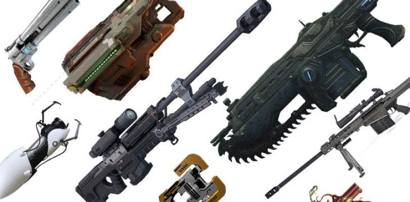10 iconic guns in videogames