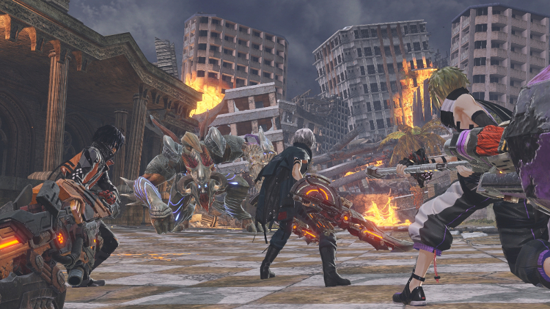 Bandai releases more story and new screenshots for God Eater 3 - SA